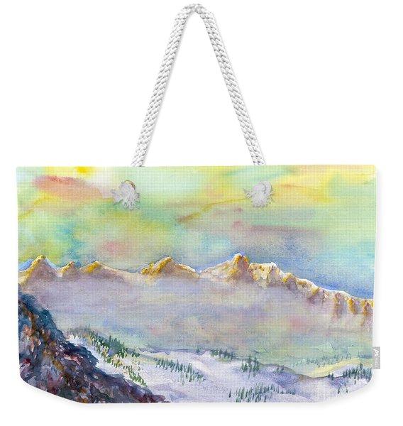 View From Snowbird Weekender Tote Bag