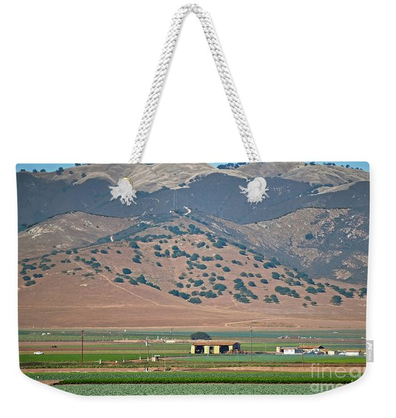 View From The Crops Weekender Tote Bag