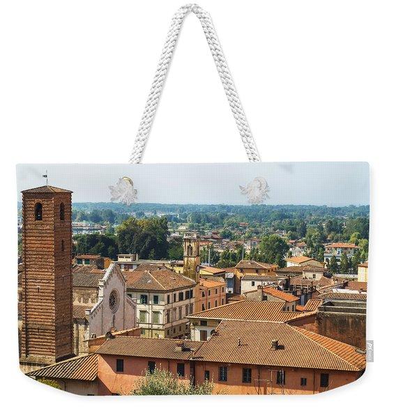 View Of Pietrasanta Weekender Tote Bag