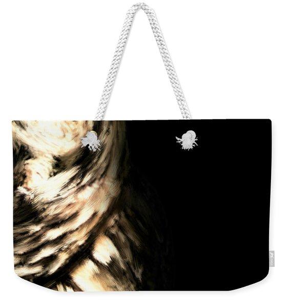 Vigilant In Darkness Weekender Tote Bag