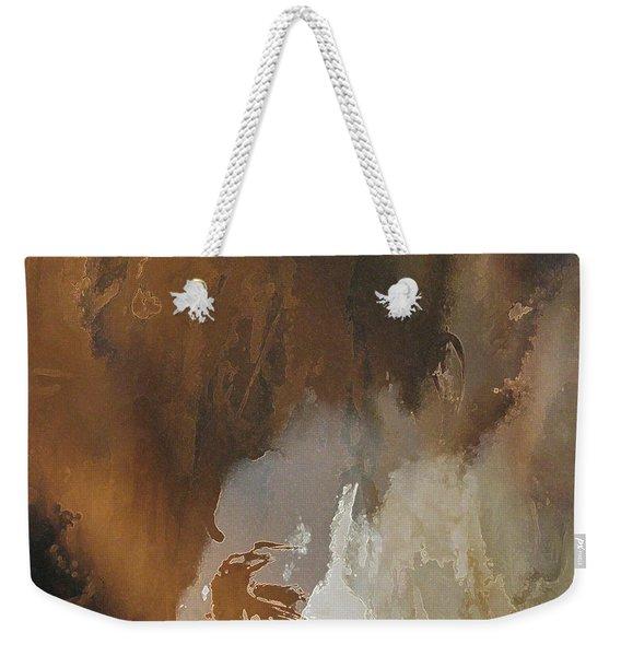 Vii - Mirky Wood Weekender Tote Bag