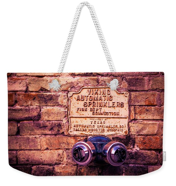 Viking Sprinkler Weekender Tote Bag