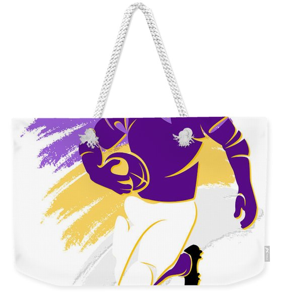 Vikings Shadow Player2 Weekender Tote Bag