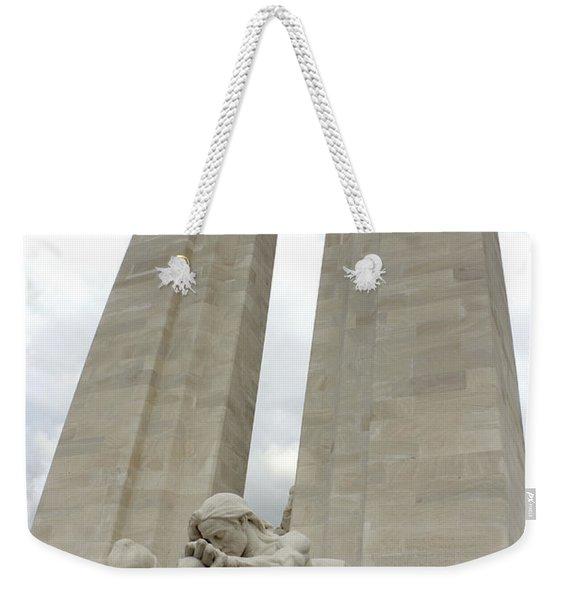 Vimy Ridge Memorial France Weekender Tote Bag