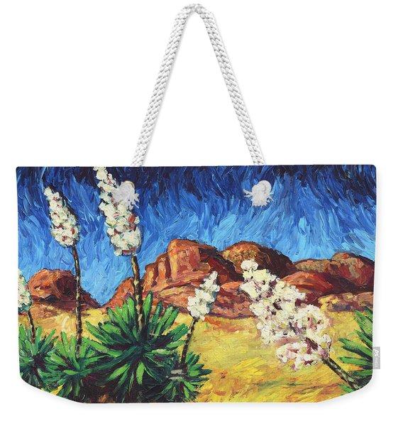 Vincent In Arizona Weekender Tote Bag