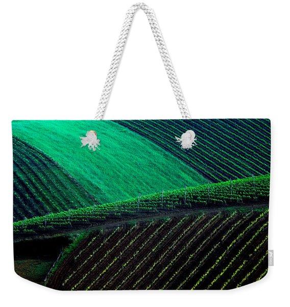 Vineyard 05 Weekender Tote Bag