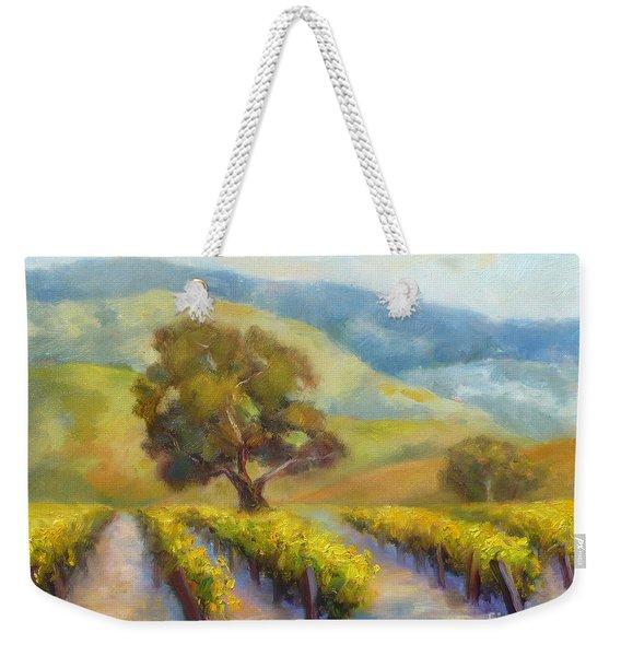 Vineyard Gold Weekender Tote Bag
