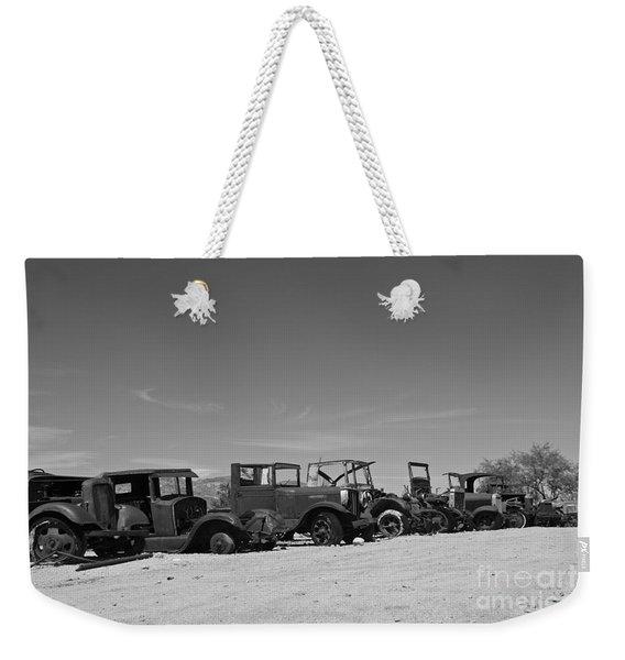 Vintage Cars Weekender Tote Bag