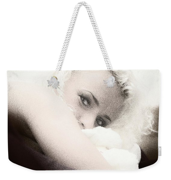 Vintage Eyes Weekender Tote Bag
