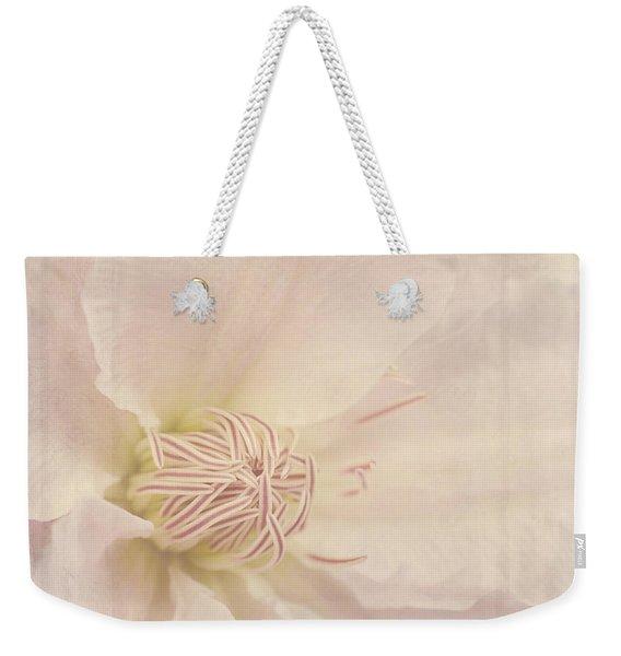 Vintage Flower Art - A Beautiful Place Weekender Tote Bag