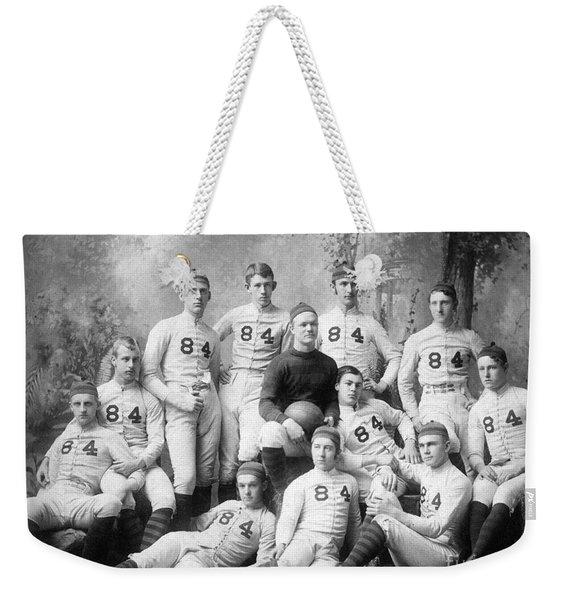 Vintage Football Circa 1900 Weekender Tote Bag