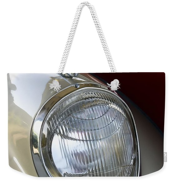 Vintage Headlamp Weekender Tote Bag