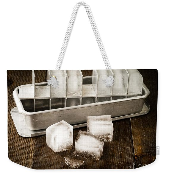 Vintage Ice Cubes Weekender Tote Bag