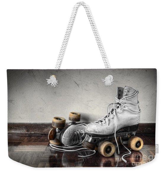 Vintage Skates Weekender Tote Bag