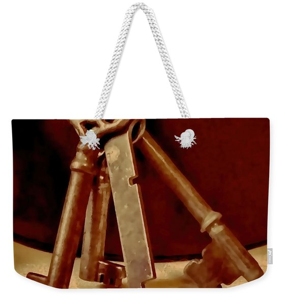 Vintage Skeleton Keys I Weekender Tote Bag