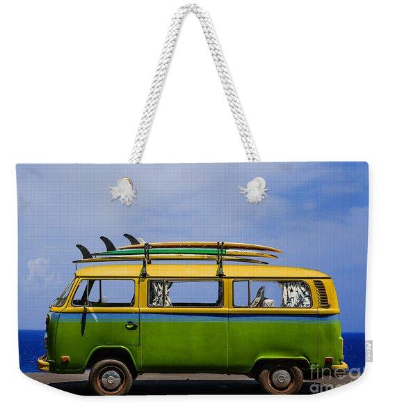 Vintage Surf Van Weekender Tote Bag