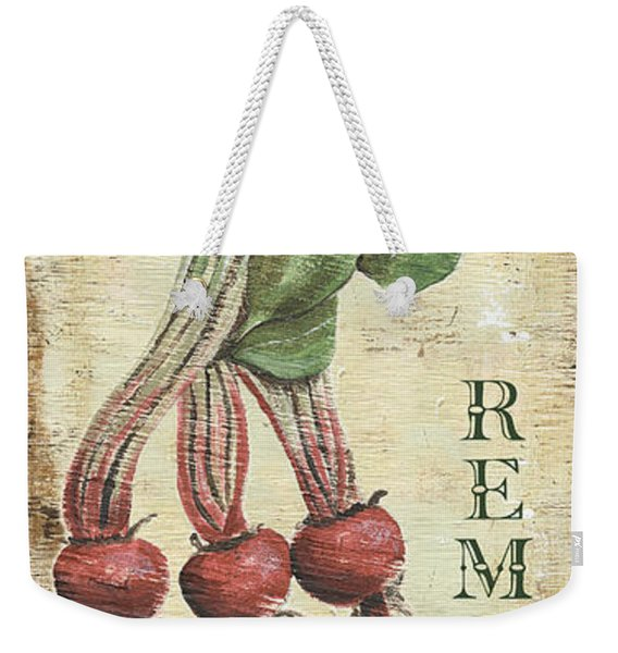 Vintage Vegetables 3 Weekender Tote Bag