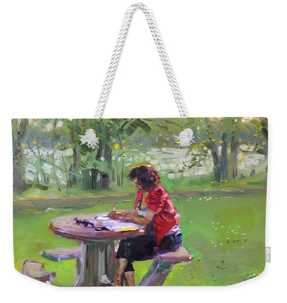 Viola - The Math Teacher Weekender Tote Bag