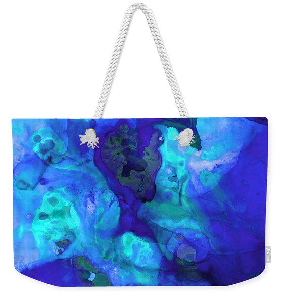 Violet Blue - Abstract Art By Sharon Cummings Weekender Tote Bag