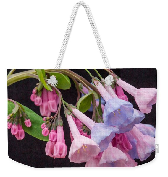 Virginia Bluebell 5 Weekender Tote Bag