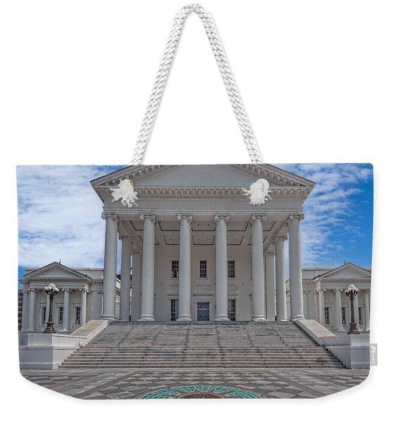 Virginia Capitol Weekender Tote Bag