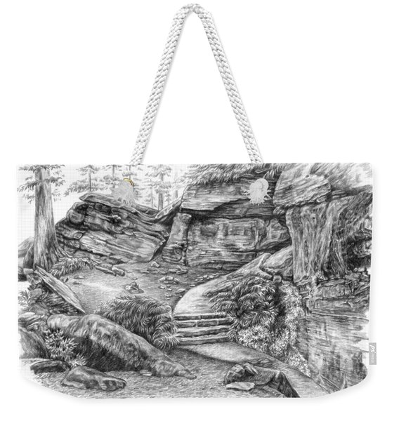 Virginia Kendall Ledges - Cuyahoga Valley National Park Weekender Tote Bag