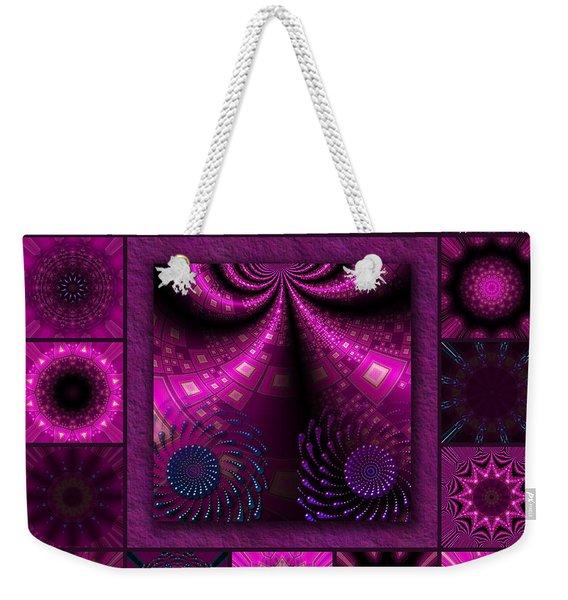 Virulent Lightwaves Redux  Weekender Tote Bag