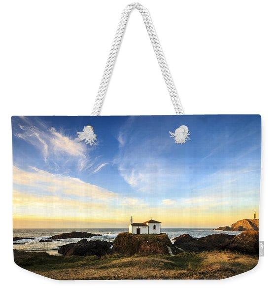 Virxe Do Porto Meiras Galicia Spain Weekender Tote Bag