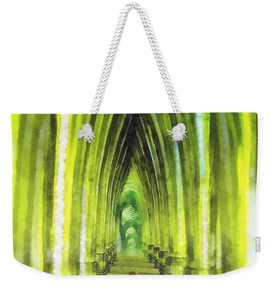 Visiting Emerald City Weekender Tote Bag