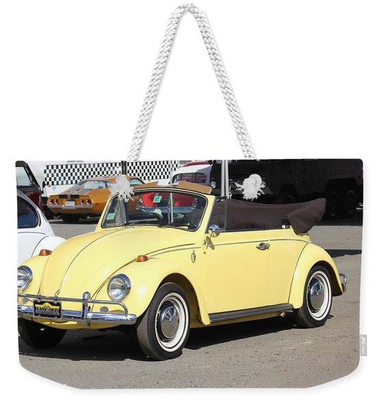 Volkswagen Convertible Vintage Weekender Tote Bag