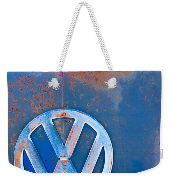 Volkswagen Vw Bus Emblem Weekender Tote Bag