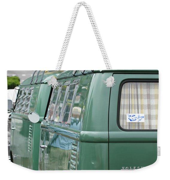 Volkswagen Vw Bus Weekender Tote Bag