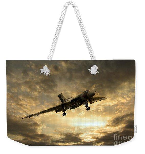 Vulcan Cometh Weekender Tote Bag
