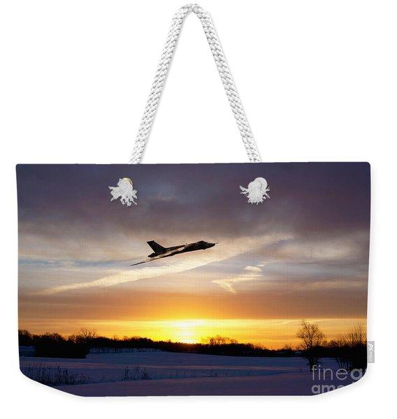 Vulcan Sundown  Weekender Tote Bag