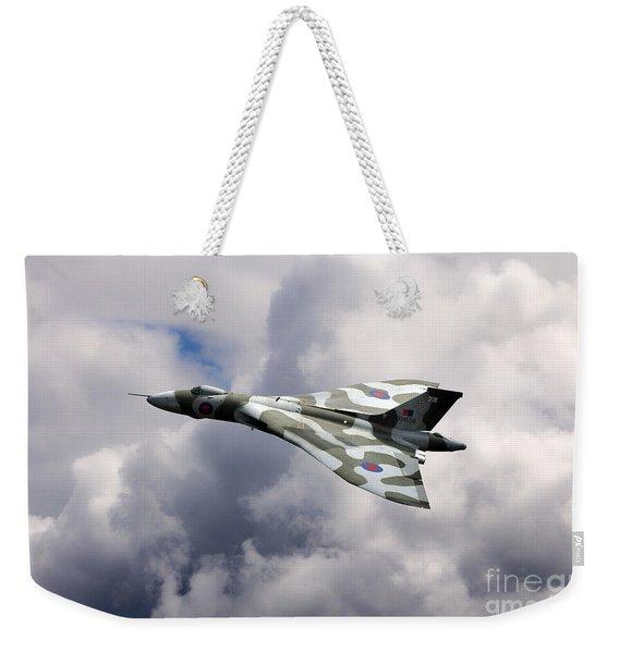 Vulcan Top Side Weekender Tote Bag