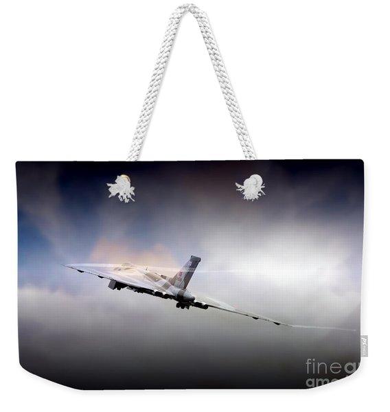 Vulcan Vapour  Weekender Tote Bag