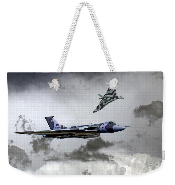 Vulcan Wingman Weekender Tote Bag
