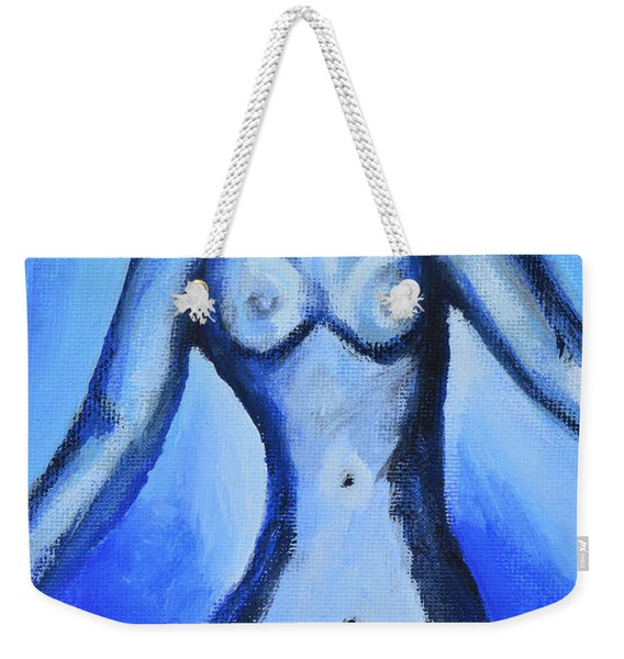 Vulnerable To The Blues Weekender Tote Bag