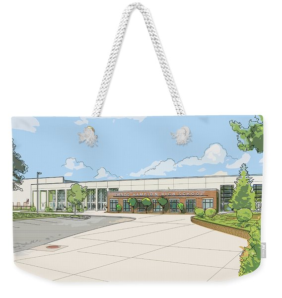 Wade Hampton High School Weekender Tote Bag