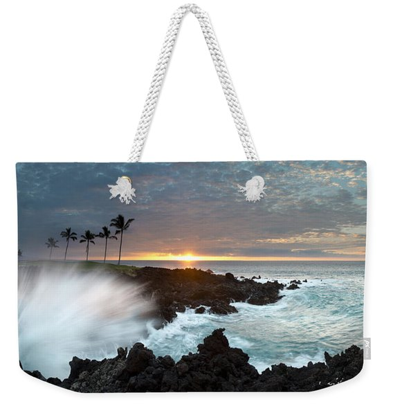 Waikaloa Mana Weekender Tote Bag