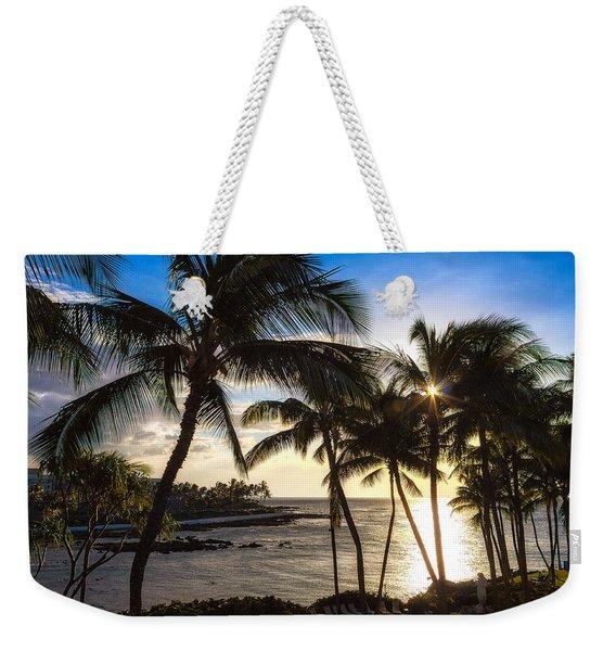 Waikoloa Sunset Weekender Tote Bag