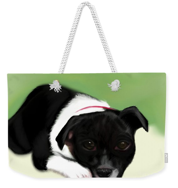 Waiting For The Family  Weekender Tote Bag