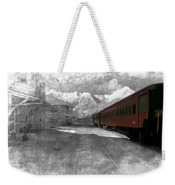 Waiting For The Take Off Weekender Tote Bag