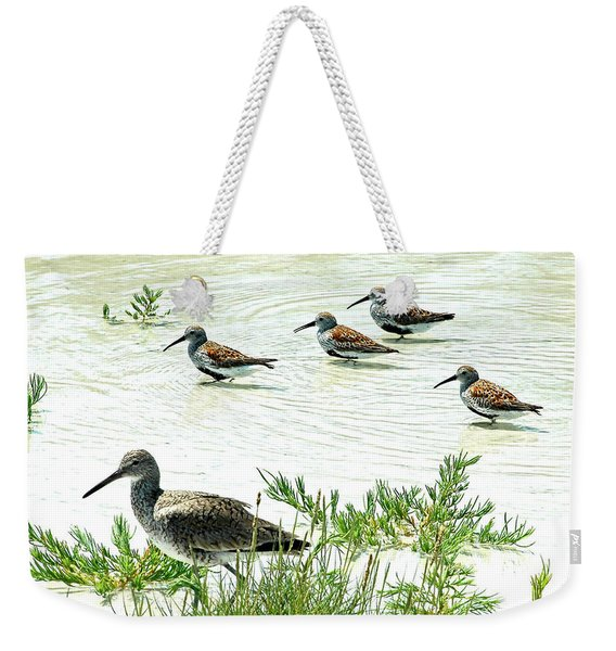 Waiting For The Tide To Change Weekender Tote Bag