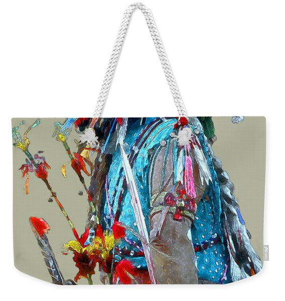 Waiting To Dance Weekender Tote Bag