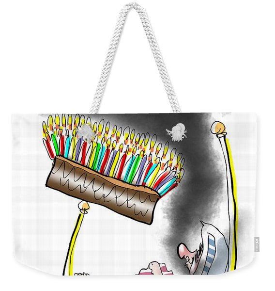 Smell The Candles Weekender Tote Bag