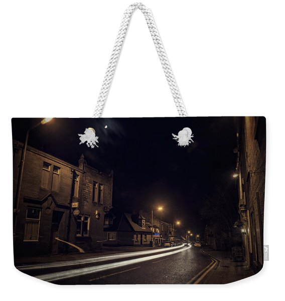 Weekender Tote Bag featuring the photograph Walk On The Wide Side by Doug Gibbons