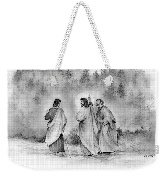 Walk To Emmaus Weekender Tote Bag