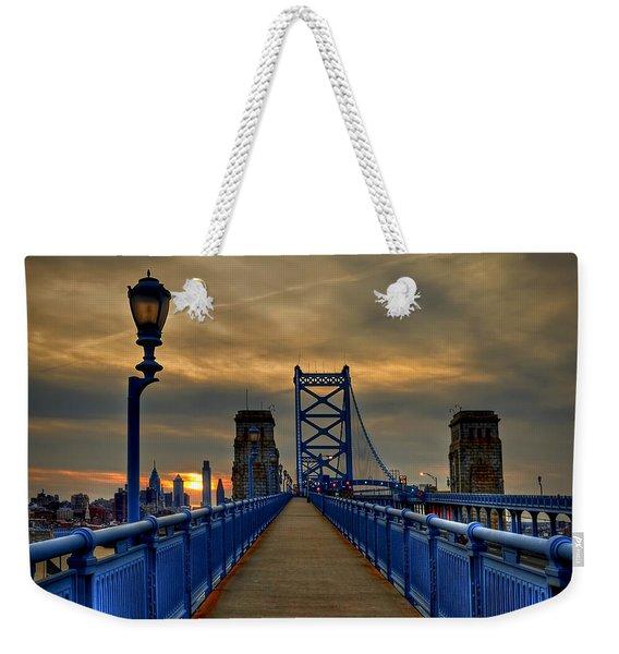 Walk With Me Weekender Tote Bag