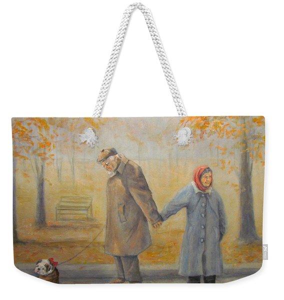Walking Miss Daisy Weekender Tote Bag